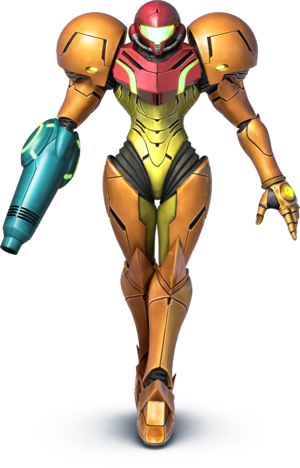 Samus Super Smash Bros Wii U