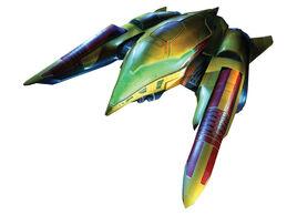 Samus ship