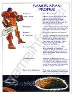 SM Samus profile