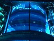 Robot celador en la fortaleza