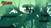 Donkey Kong Tropical Freeze Samus Ship ETC