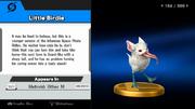 Pajarito trofeo SSB WiiU