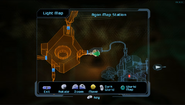 Agon Map Station - on Map