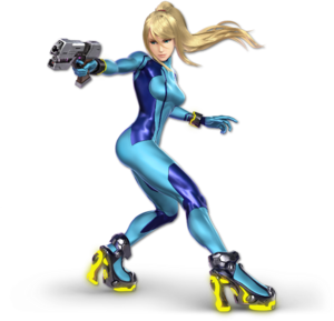 SSB Ultimate Zero Suit Samus render