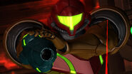 Samus targeted laser sight Anthony Plasma Gun Geothermal Power Plant Pyrosphere HD