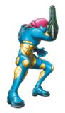Brawl Sticker Samus (Metroid Fusion)