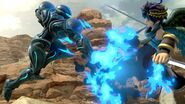 SSB Ultimate Dark Samus Flame Thrower