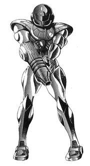 MZM Manga Powersuit