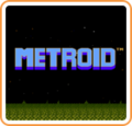 Metroid Start Screen Logo