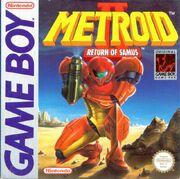 Metroid II US boxart