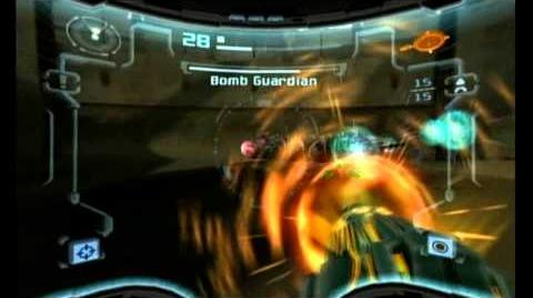 Metroid Prime 2- Echoes Hyper Mode Boss Battles - -2 Bomb Guardian