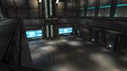 Control room entrance side