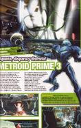 Metroid Prime 3 Spanish print with fake screenshot
