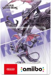 Ridley amiibo packaging