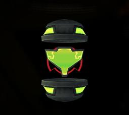 Visor Oscuro objeto MP2