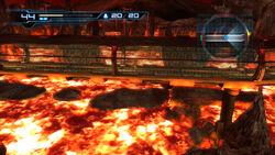 Pyrosphere corridor lava glass HD