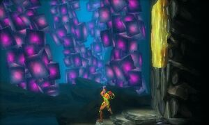 Samus Returns Goo wall