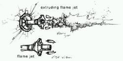 Flame jet