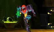 Metroid Samus Returns Metroid Husk Zeta Metroid Husk - Samus Running (Cutscene)