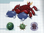 MSR Artbook Skorp Metroid Egg Needler Flitt