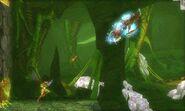 Samus enfrentando a un Metroid Gamma msr