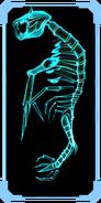 Parasite Queen skeleton scanpic 3