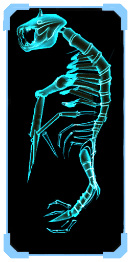Parasite Queen skeleton scanpic 3