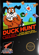 Duck Hunt Reveal Art SSB4