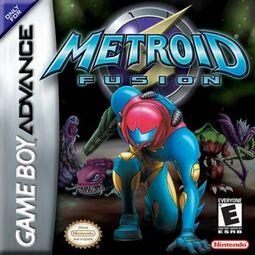 Metroid Fusion boxart