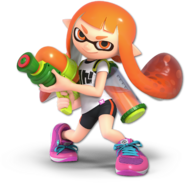 SSB Ultimate Inkling render