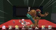 Samus KO pantalla SSB WiiU
