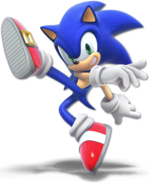 SSB Ultimate Sonic render