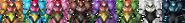 Samus Color Palette SSB4