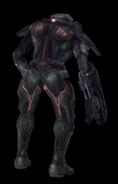 Soldado Oscuro espalda MP2