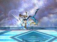 Zero Suit Samus Upward Throw SSBB