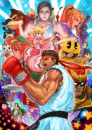 Ryu Character Poster SSB4