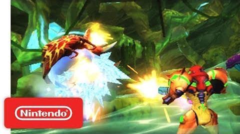 Metroid Samus Returns - Infiltrating SR388 - Nintendo 3DS
