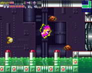 Metroid Fusion Screw Attack