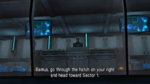 Adam in gameplay