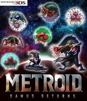 Eight Metroids growing
