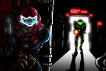 Metroid fusion escape of sa x by jevi93-d855lxh