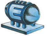 Artwork del tanque de energía en metroid