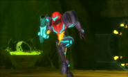 Carcasa de Metroid Zeta MSR