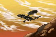 Cutscene Ridley Arriving at Zebes MZM