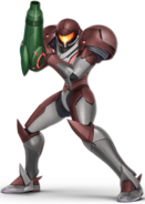 SSBU Samus Alt. Costume - Dark Suit