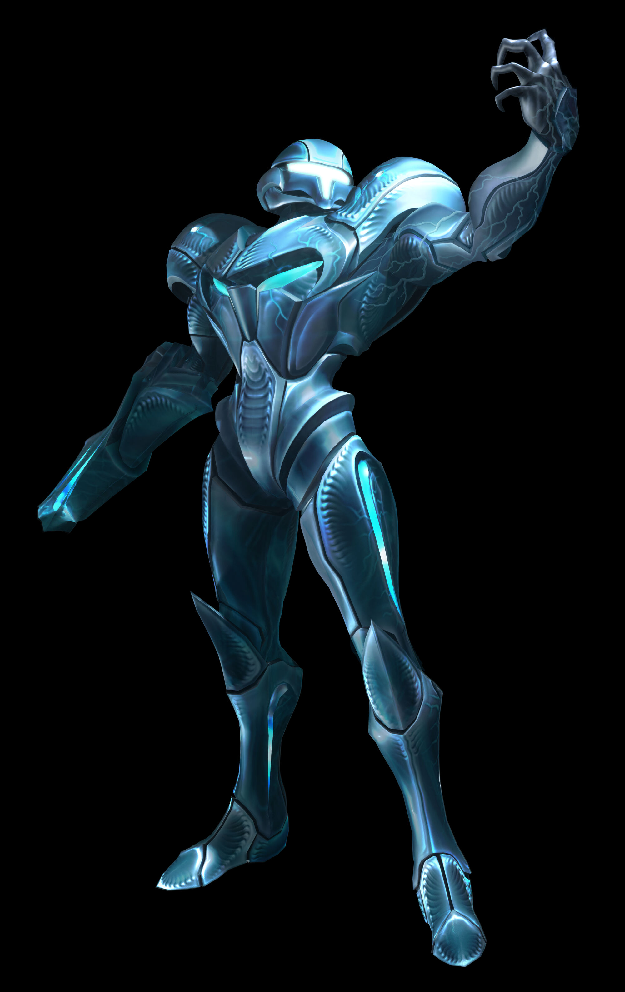 Metroid samus aran power suit ver dimension diver-2762
