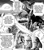 Chozo Déclin Manga Metroid