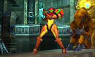 Metroid Samus Returns Varia Suit (Ice Beam) Full Body Varia Suit (Cutscene)