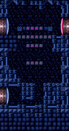 Fake Block shaft - Super Metroid