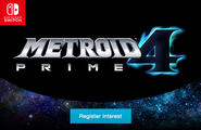 Metroid Prime 4 register interest